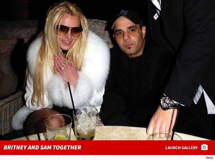 Britney Spears and Sam Lutfi Together
