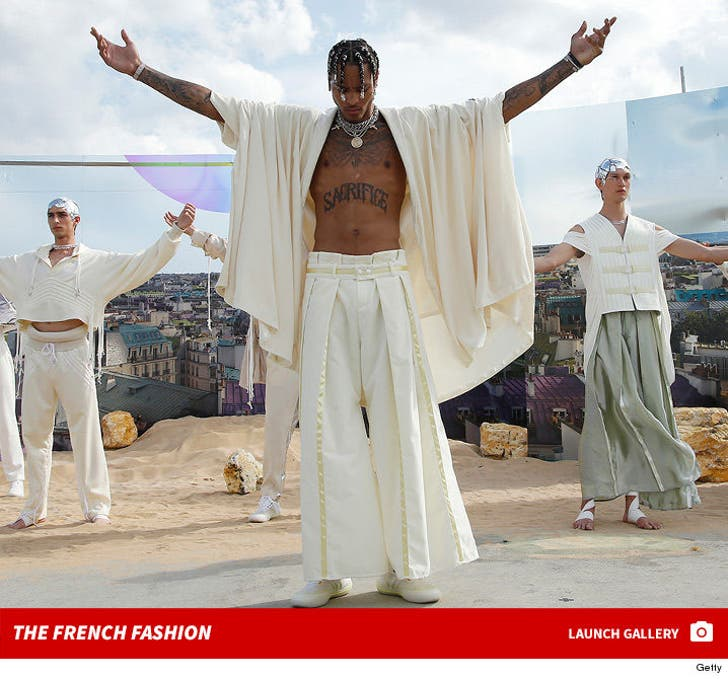 Kelly Oubre Walks the Runway at Pigalle Fashion Show in France