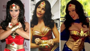 Sexy Stars Dressed As Wonder Woman -- See The Cosplay Candids!