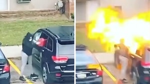 Michigan Woman Arrested After Torching Jeep in Firey Explosion