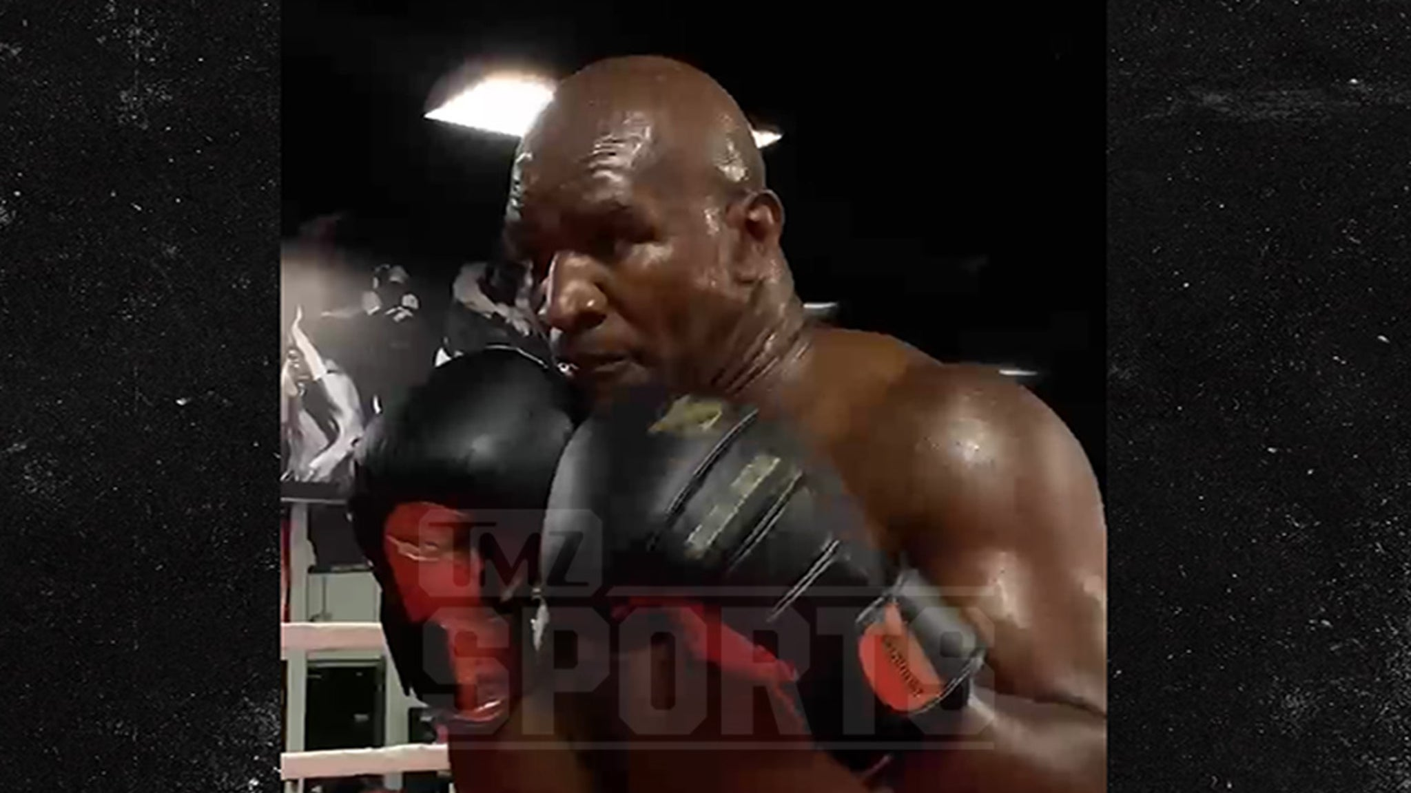 Evander Holyfield To Mike Tyson, I Wanna Fight You Next, Stop Ducking Me!!
