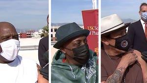 Magic Johnson, Danny Trejo, Arsenio Hall Get COVID-19 Vaccine
