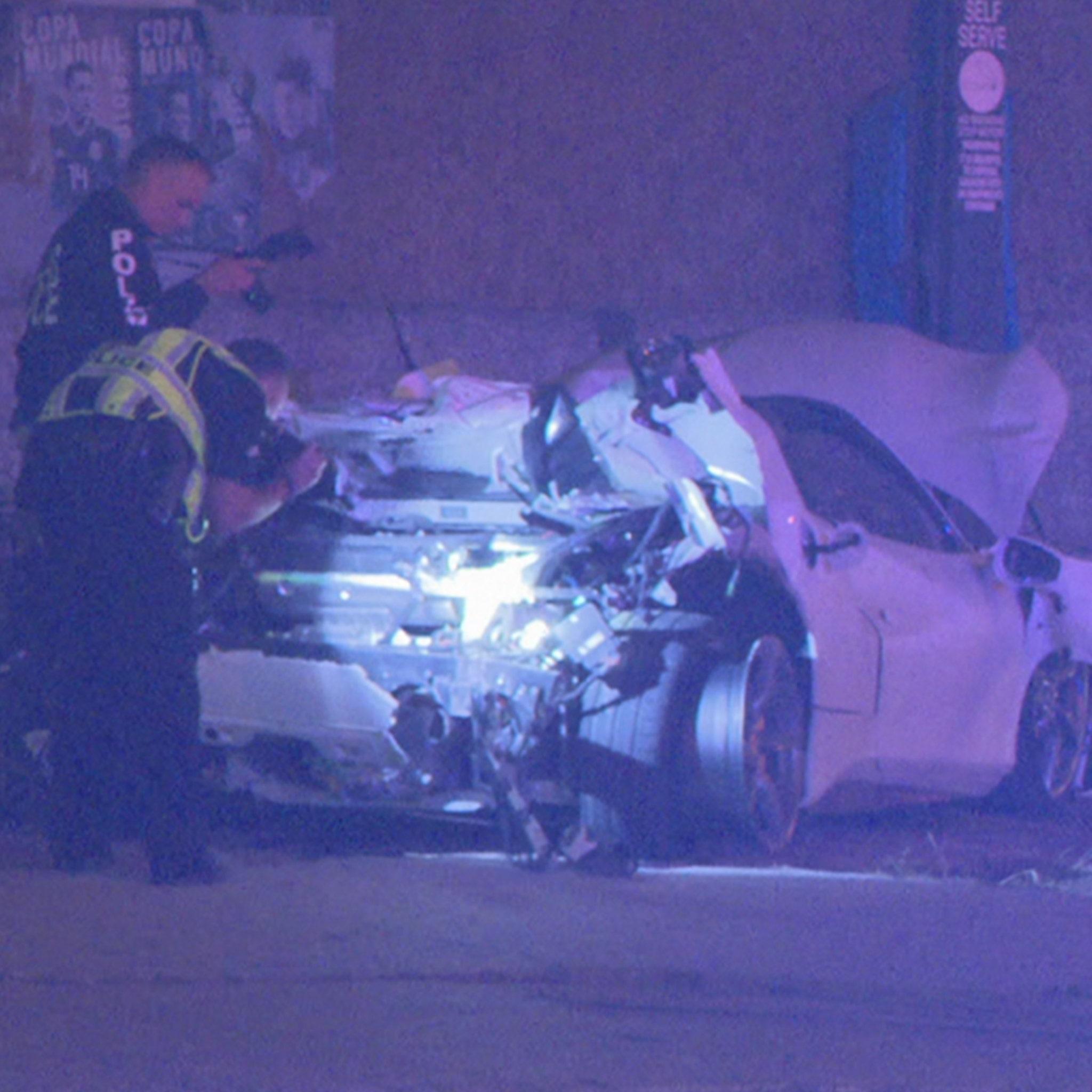 Errol Spence 'Seriously Injured' In Ferrari Crash In Dallas
