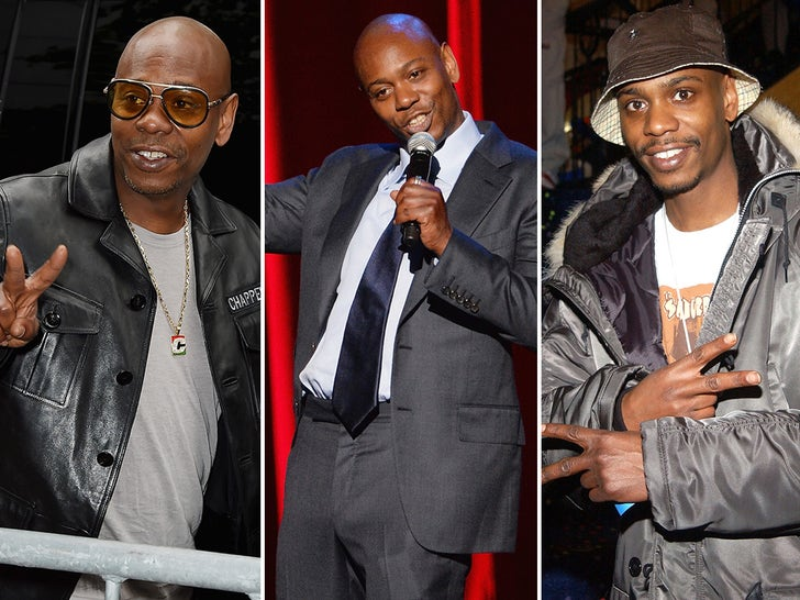 Dave Chappelle -- Through The Years