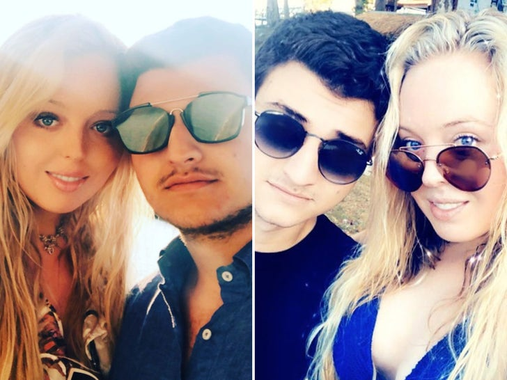 Tiffany Trump and Michael Boulos Together
