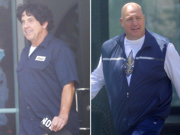 NFL's Sean Payton On Set for 'Bountygate' Movie, Kevin James Playing Saints Coach!.jpg