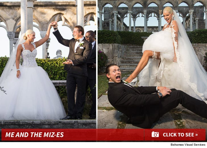 WWE Miz and Maryse Wedding