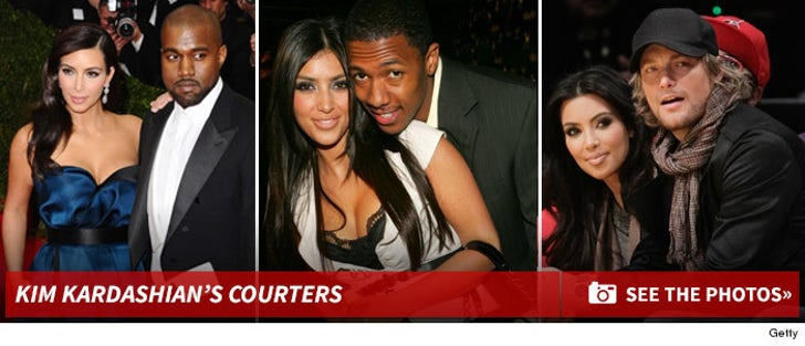 Kim Kardashian -- Courters of The Past and Present
