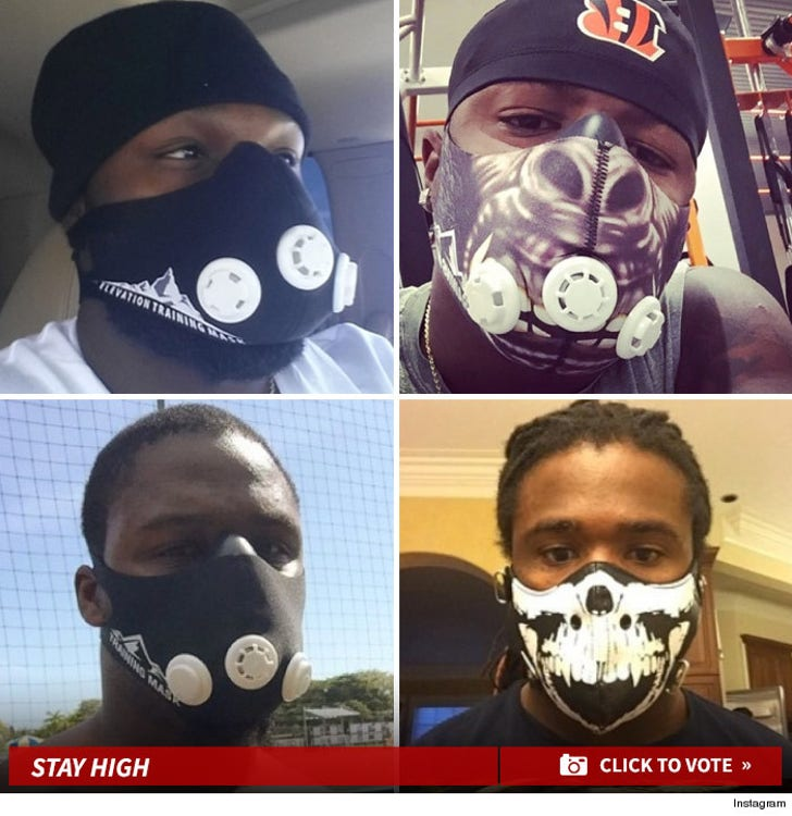 NFL Elevation Masks -- Takin' Workouts to New Heights!