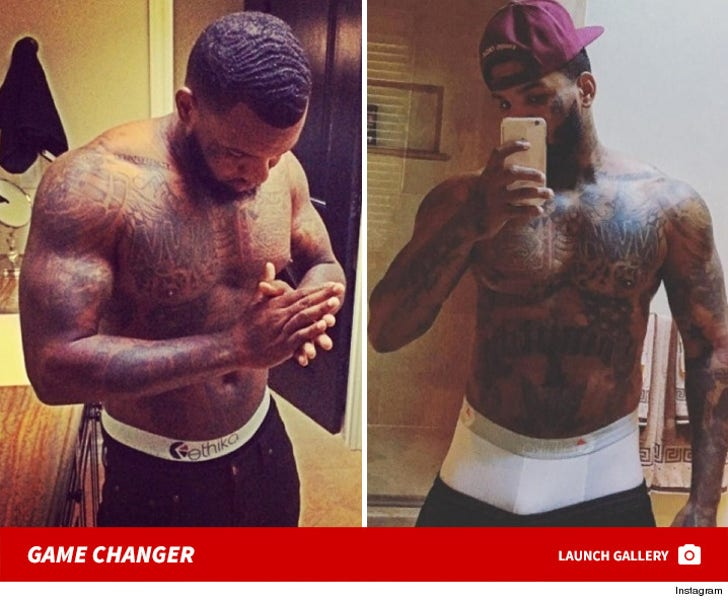 The Game Wearing Ethika Boxers