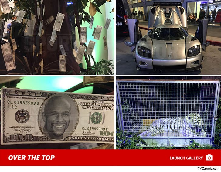 Floyd Mayweather's Over The Top 40th Birthday