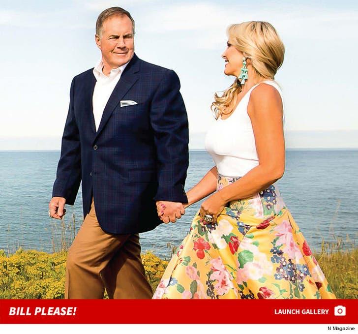 Bill Belichick and Linda Holliday in N Magazine