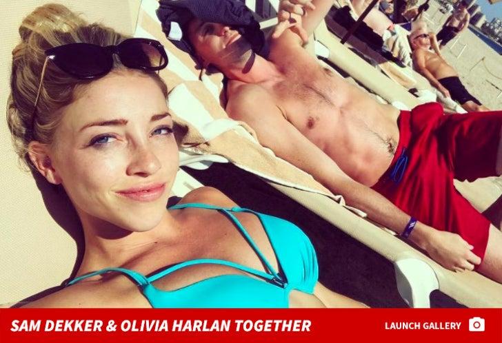 Sam Dekker and Olivia Harlan Together Photos