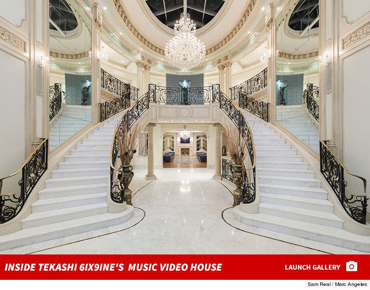 Inside Tekashi 6ix9ine's Music Video House