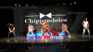Tyson Beckford -- Special Dong Delivery ... Bumpin' For Chippendales