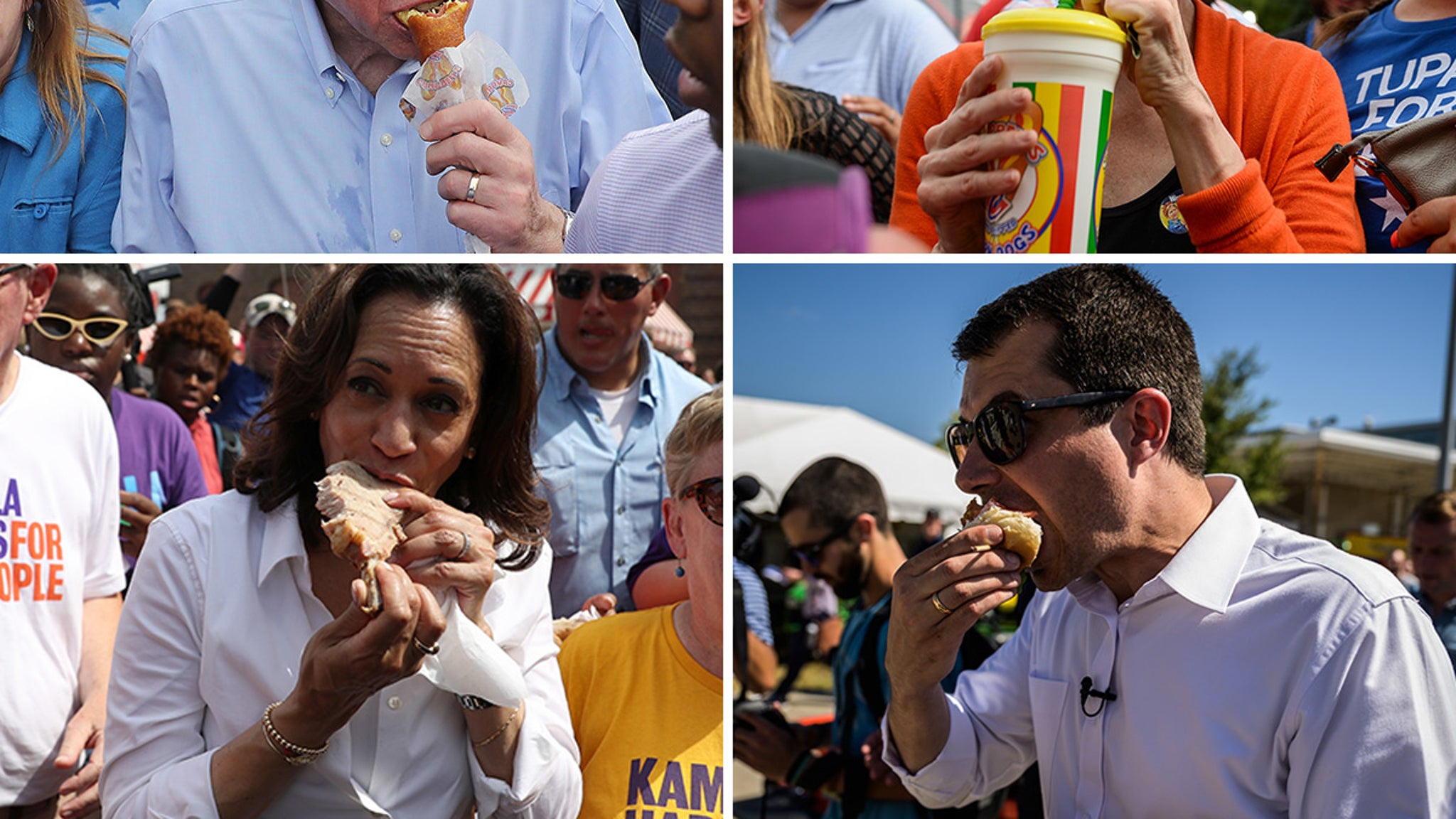 Gear Up for Holiday Feasts with These Prez Candidates Snacking - EpicNews