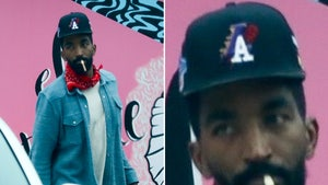J.R. Smith Rocks Lakers Hat on L.A. Taco Run, Done Deal