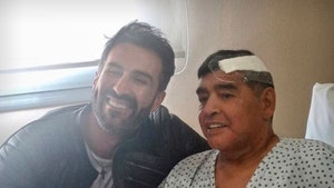 Soccer Legend Diego Maradona All Smiles After Emergency Brain Surgery
