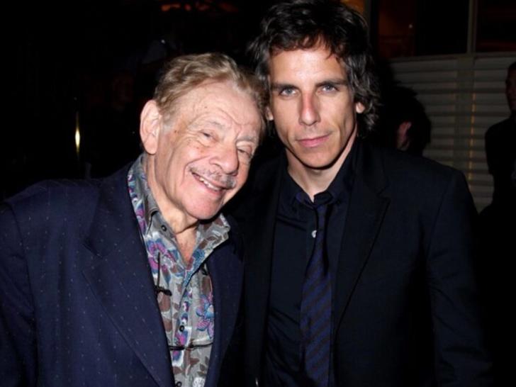 Jerry and Ben Stiller Together