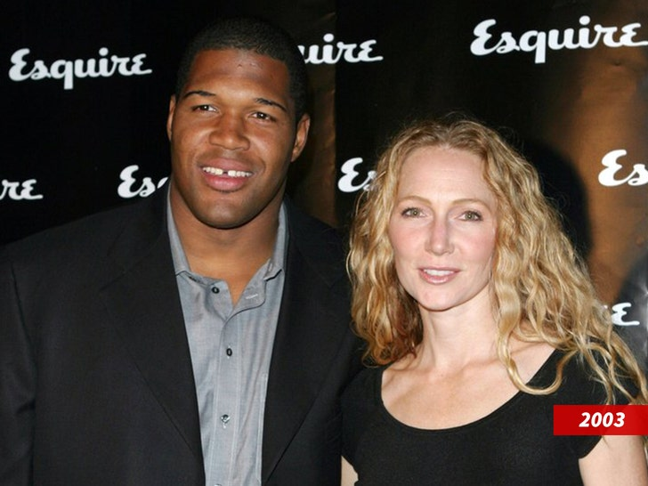 Michael Strahan and Jean Strahan