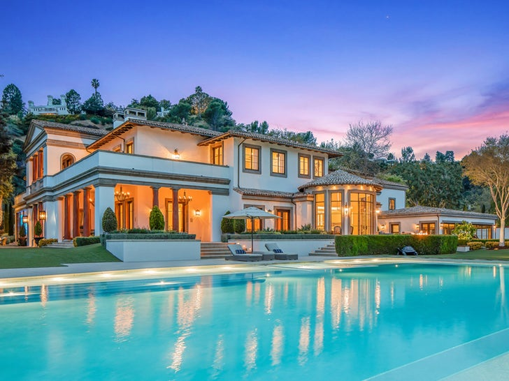 Sylvester Stallone Relists L.A. Mansion