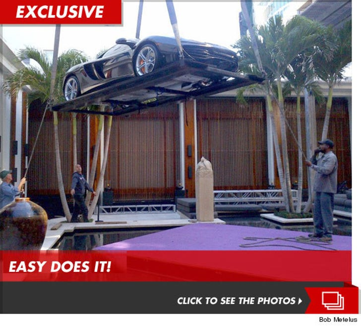 Dwyane Wade -- My $230k Car Can Fly     Sorta