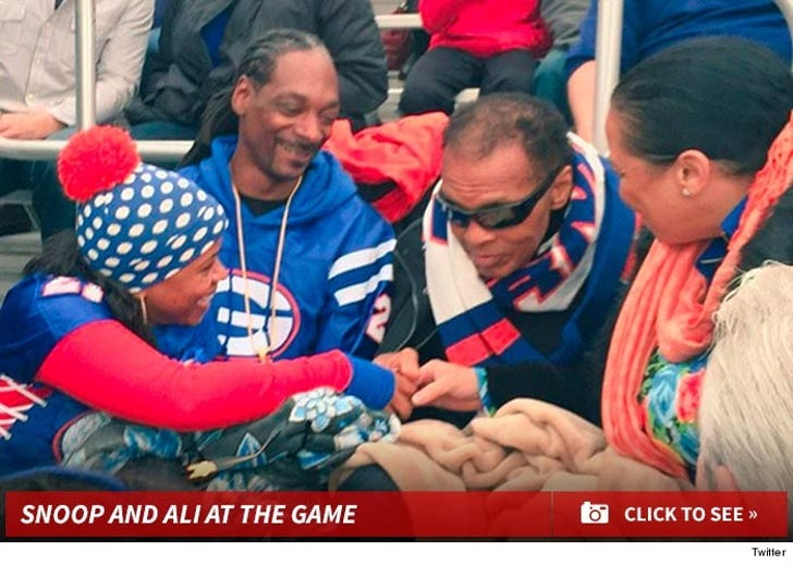 Snoop and Ali at the Game