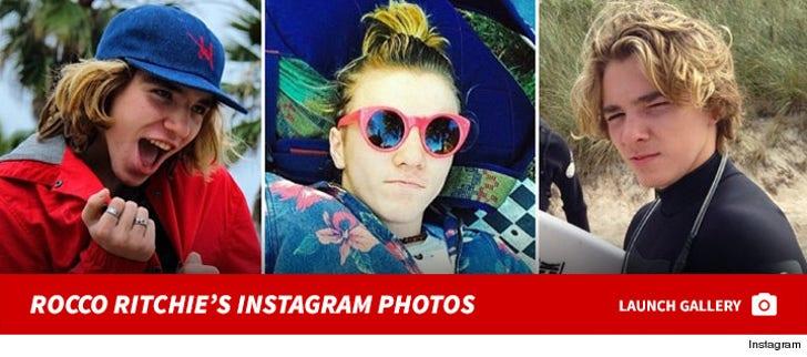 Rocco Ritchie's Instagram Photos