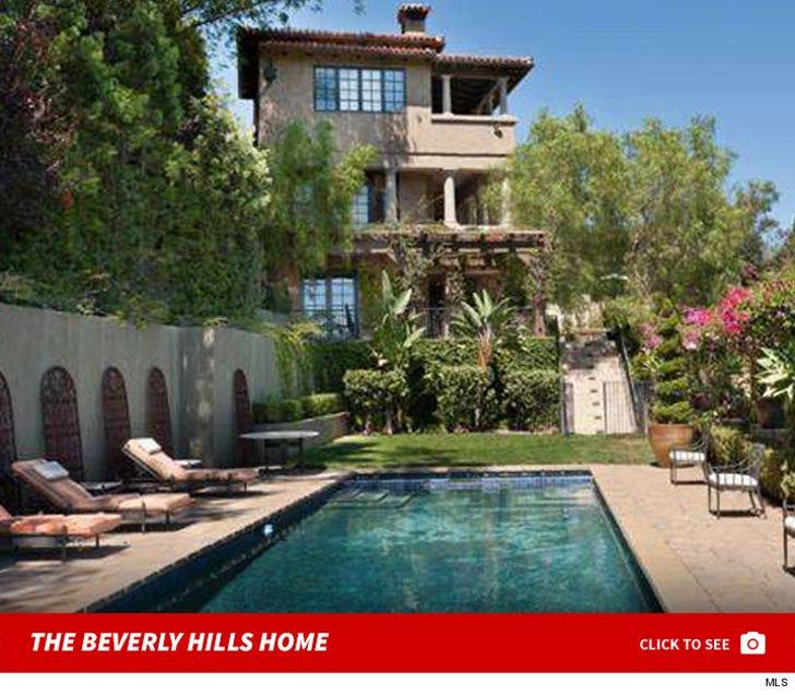 Mischa Barton's Beverly Hills Home