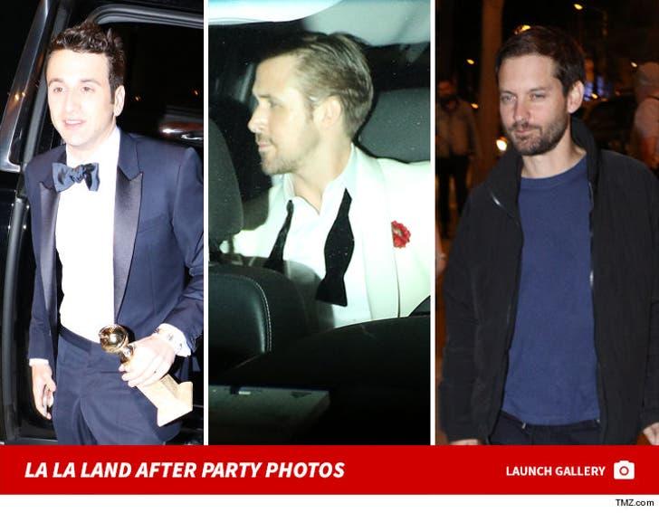 'La La Land' -- The Golden Globes After Party