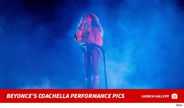 Beyonce's Coachella Performance Pictures