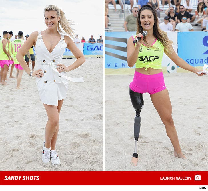 Stars Ball Out at S.I. Swimsuit Soccer Match