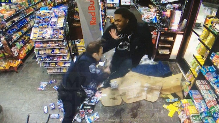 NFL's Malik McDowell Fights Cop AFTER Being Tased, Insane Video