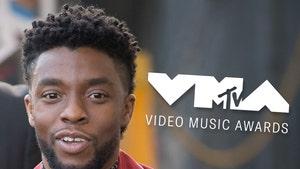 Chadwick Boseman Honored at MTV VMAs in Touching Tribute