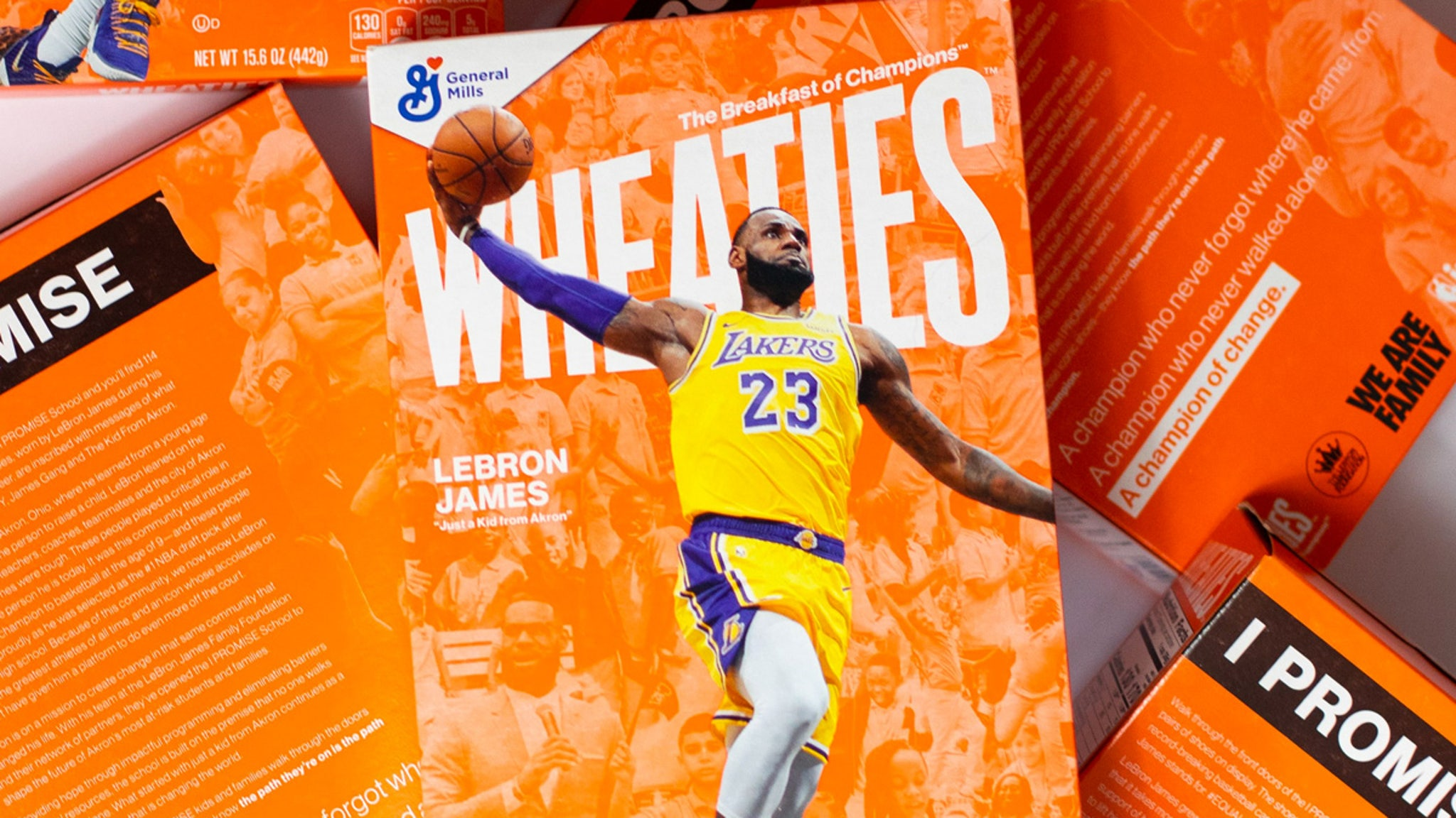 LeBron James Tapped as New Wheaties Box Athlete, Takes Over for Serena