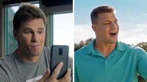 Brady & Gronk Star in Funny T-Mobile Super Bowl Commercial
