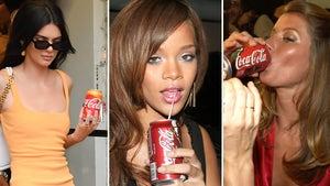 Stars Drinking Coke