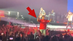 Patrick Mahomes Fires Up Crowd At Kane Brown Concert, Fans Lose Their Minds!