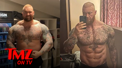 'The Mountain' Shows Off Insane Body Transformation Ahead Of Boxing Match   TMZ TV.jpg