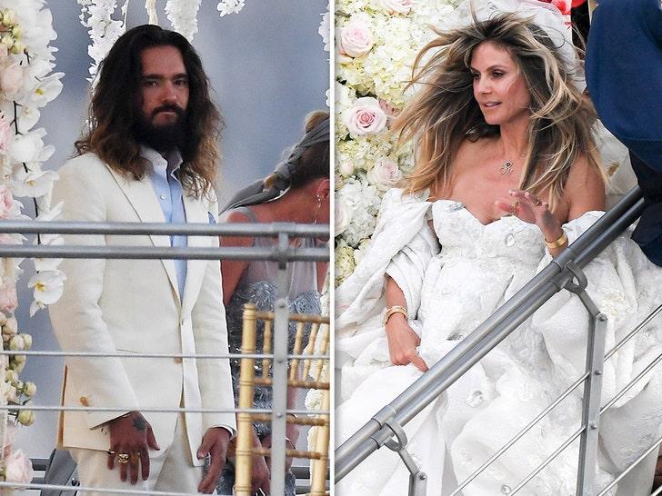 Heidi Klum Tom Kaulitz Relax Enjoy Each Other Day After Second