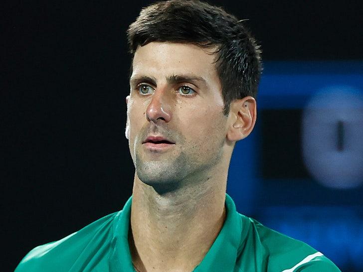 Novak Djokovic Is Anti Vaxxer Against Mandatory Covid 19 Vaccinations In Tennis