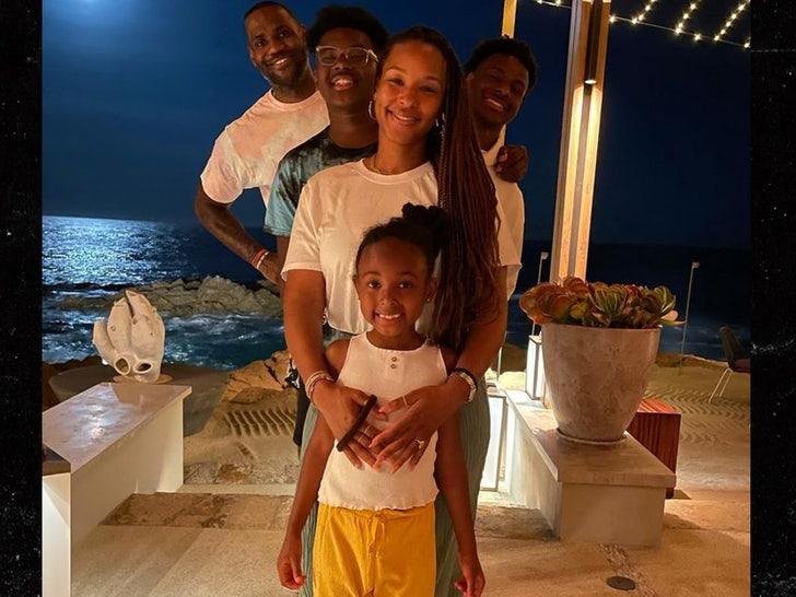 lebron james family
