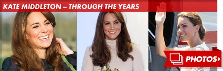 Kate Middleton -- Through the Years