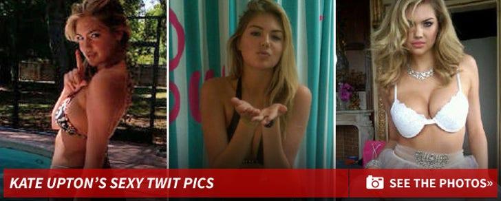 Kate Upton's Sexy Twit Pics