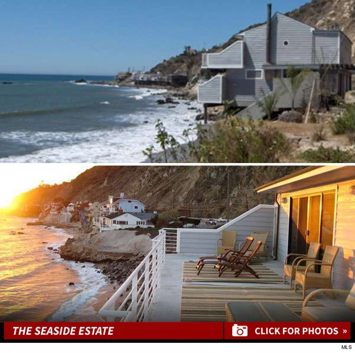 Lana Del Rey's Malibu Beach House