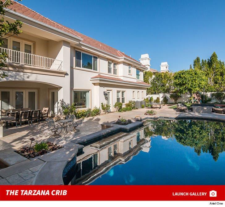 Orlando Scandrick and Draya Michelle's Tarzana Home