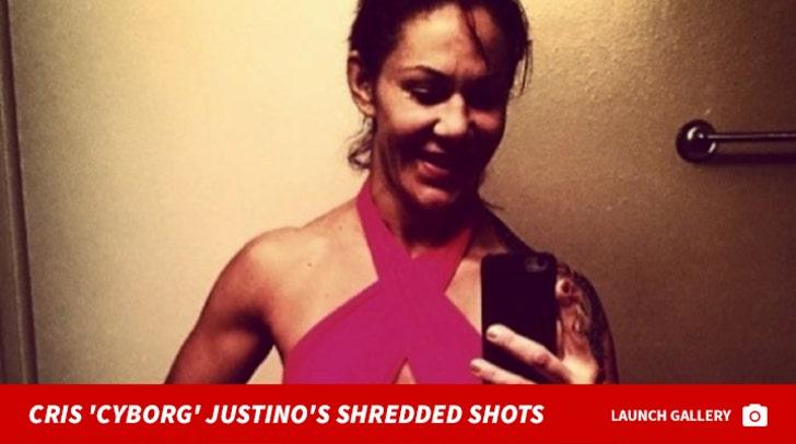 Cris 'Cyborg' Justino's Shredded Shots