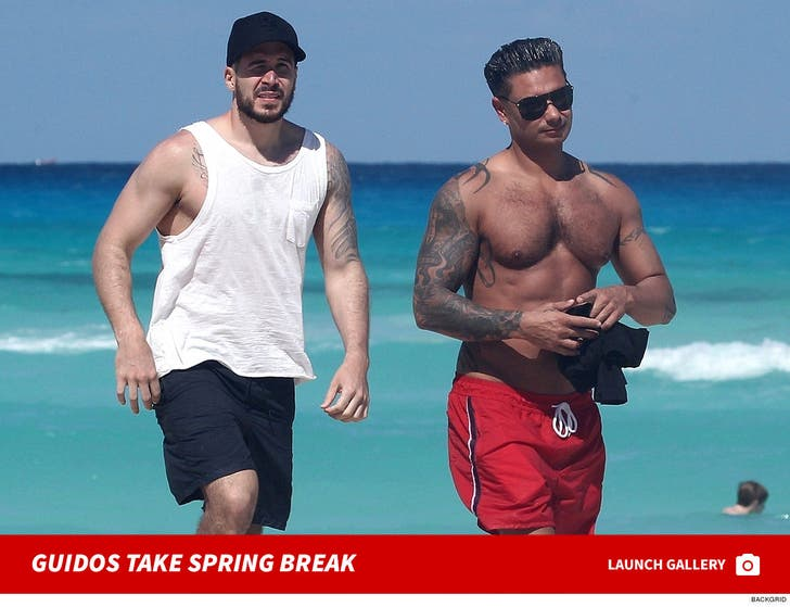 Pauly D and Vinny In Mexico for Spring Break