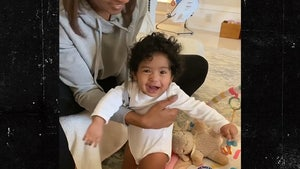 Vanessa Bryant Shares Video of 7-Month-Old Daughter Learning to Stand