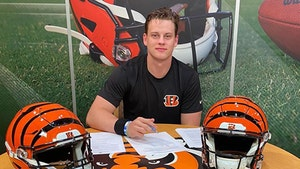 Joe Burrow Signs Huge Rookie Contract With Bengals, Ready to Work